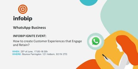 WhatsApp Business - How to create Customer Experiences that Engage and Retain  tickets