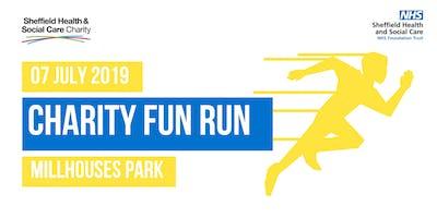 Charity fun run - 71st birthday of the NHS