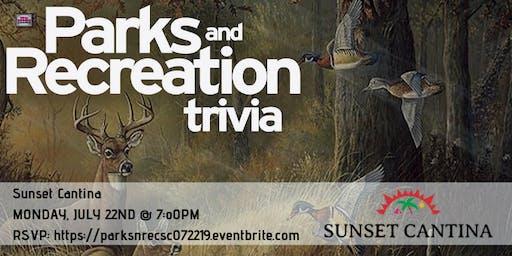 Parks & Rec Trivia at Sunset Cantina