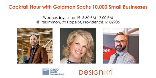 Postponed - Cocktail Hour with Goldman Sachs 10K Small Businesses