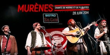 Les Murènes, chants de marins et de flibustes tickets
