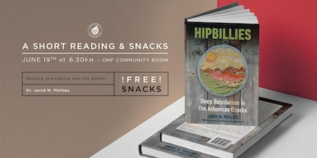 Reading of Hipbillies with Dr. Jared M. Phillips tickets