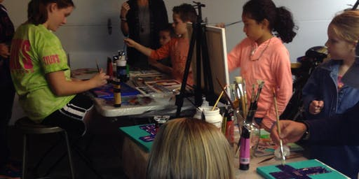 Summer Youth Creative Painting Classes