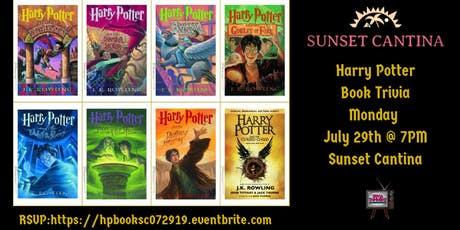 Harry Potter (Book) Trivia at Sunset Cantina tickets