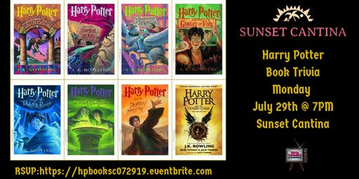 Harry Potter (Book) Trivia at Sunset Cantina