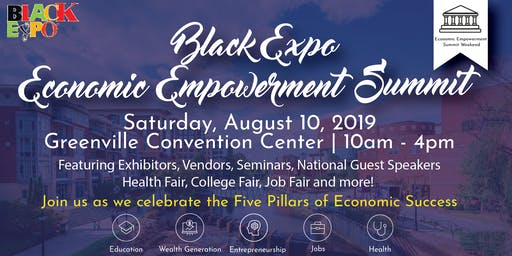 2019 Upstate Black Expo Economic Empowerment Summit