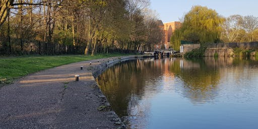 Canal and River Walks: City Centre to Limekiln Lock and Abbey Park