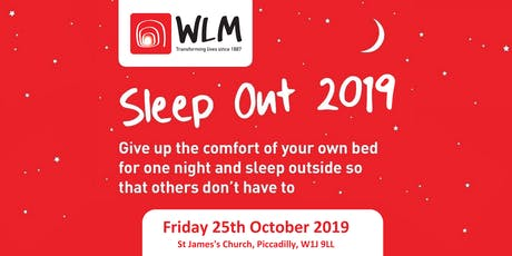 WLM Sleep Out 2019 tickets