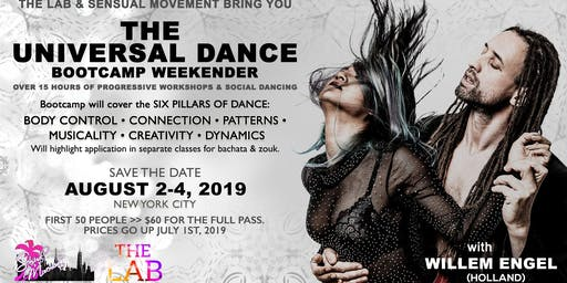 The LAB and Sensual Movement Weekender: The Universal Dance