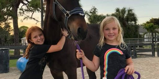 Naples Kids Day Camp learn all about horses and riding