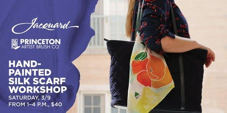 Hand-Painted Silk Scarf Workshop at Blick Fullerton tickets