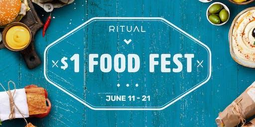 $1 Food Festival - North Sydney