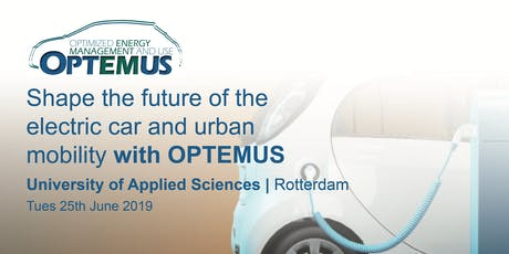 OPTEMUS workshop on the future of the electric car and urban mobility tickets
