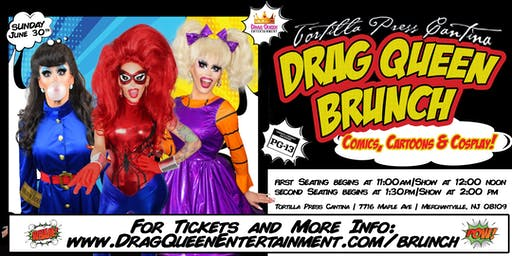 Drag Queen Brunch - Cartoons, Comics & Cosplay!