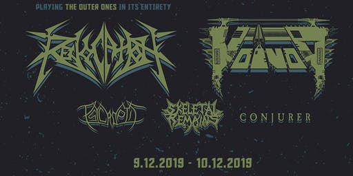 REVOCATION & VOIVOD with Psycroptic, Skeletal Remains, Conjurer