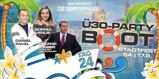 Ü30 PARTY BOOT zum Dresdner Stadtfest