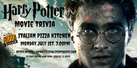 Harry Potter Movie Trivia at Italian Pizza Kitchen Roselle tickets