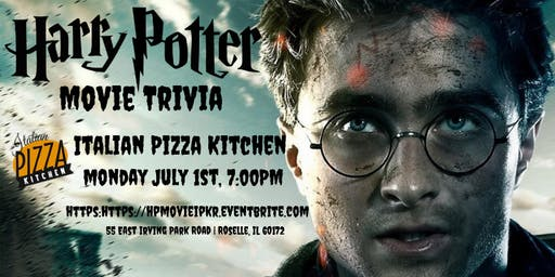 Harry Potter Movie Trivia at Italian Pizza Kitchen Roselle