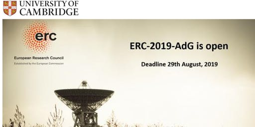 ERC Funding and ERC Advanced grant call - Information event