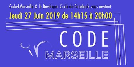 Code In Marseille - Découvre le numérique avec Code4Marseille ! billets
