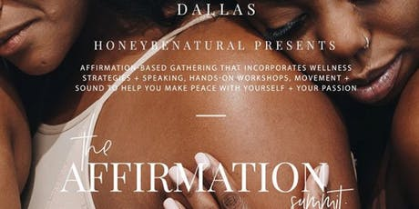 The Affirmation Summit (Dallas) tickets