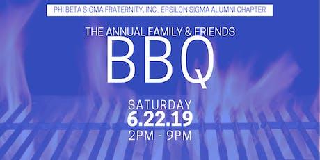 Epsilon Sigma Annual Family & Friends BBQ tickets