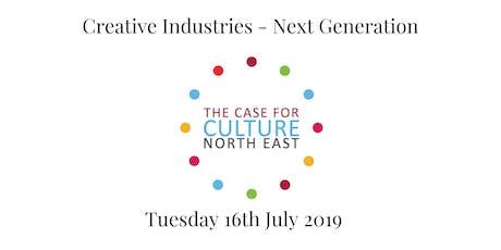 Creative Industries - Next Generation tickets