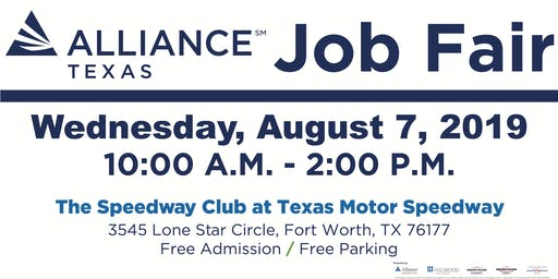 AllianceTexas 2019 Job Fair