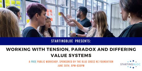 Working with Tension, Paradox, and Differing Value Systems tickets