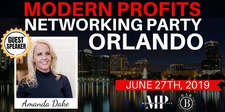 Modern Profits Networking Party (Amanda Dake) tickets