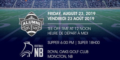 2019 Football New Brunswick CFL Alumni Golf Classic tickets