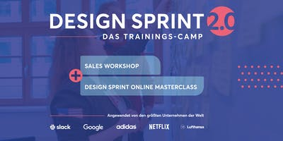 Design Sprint 2-Tages Trainingscamp + Sales Workshop