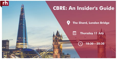 CBRE: An Insider's Guide tickets