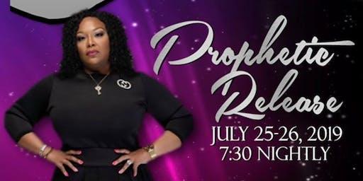 Prophetic Release with Prophetess Dr. Valerie Moore-Burris