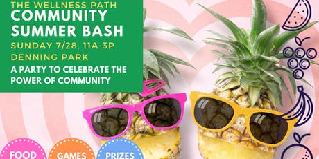 Community Summer Bash tickets