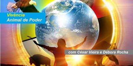 César Vieira e Débora Rocha - Vivência Animal de Poder ingressos