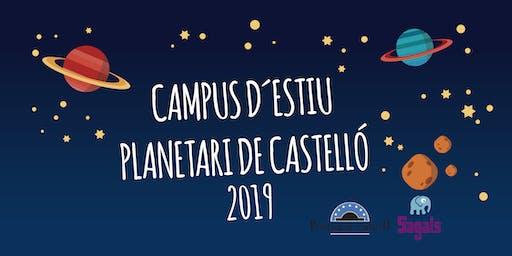 Campus Planetario Primera semana de julio del 1 al 5