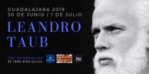 Leandro Taub en Guadalajara: 30 de Junio y 1 de Julio
