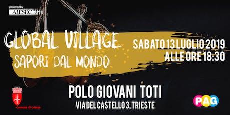 Global Village - Sapori dal Mondo biglietti