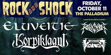 ROCK AND SHOCK 2019 Feat. ELUVEITIE & KORPIKLAANI tickets