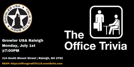The Office Trivia at Growler USA Raleigh tickets