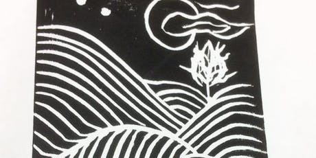 Festive Lino Printing Workshop at By Our Hands, 20/10/19 3-5 tickets