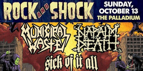 ROCK AND SHOCK 2019 Feat. MUNICIPAL WASTE & NAPALM DEATH
