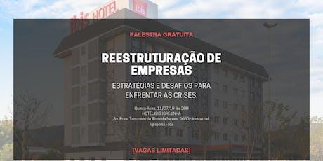 Reestruturação de Empresas - Estratégias e Desafios para Enfrentar Crises ingressos