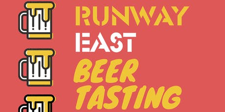 Runway East Beer Tasting tickets