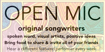 Open Mic Night! – Hosted by Steve Rodgers, featuring Max Johns