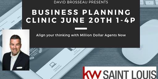 Business Planning Clinic - David Brosseau