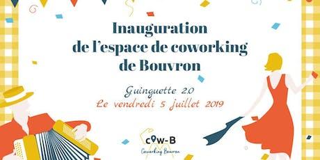Inauguration du Cow-B : le Coworking de Bouvron billets