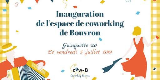 Inauguration du Cow-B : le Coworking de Bouvron