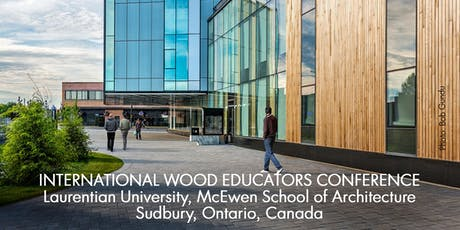 International Wood Educators Conference (SEPT 12-13, 2019) tickets